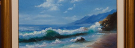 By the Coast – Oil Painting