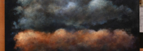 Clouds – Oil Painting