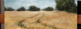 The Field – Oil Painting