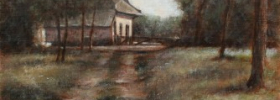 Old Farm – Oil Painting