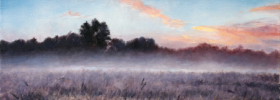 Misty Morning – Oil Painting
