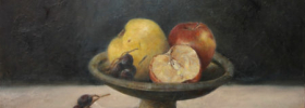 Fruits Still Life – Oil Painting