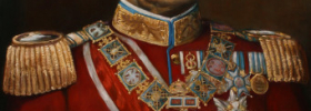 King Peter I of Serbia – Oil Painting