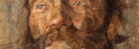 Head of an old Man – Oil Painting