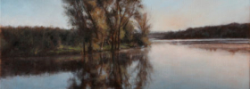 A Lake – Landscape Oil painting
