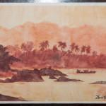 Hot Summer – Watercolor Painting
