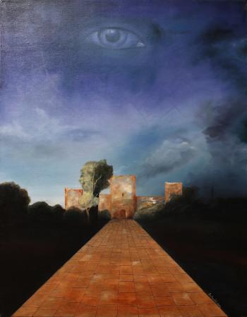 Disclosure of the Hidden-Original Oil Painting on Canvas by artist Darko Topalski