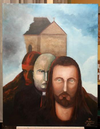 Fine Art - The Choice - Original Oil Painting on Canvas by artist Darko Topalski