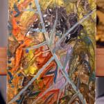Gorilla's Breakfast at Tiffanys – Oil Painting