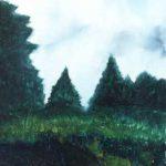 Hidden in Green – Oil Painting