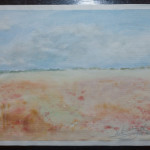 Misty Plain – WOW-no12 – Watercolor Painting
