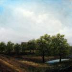Farm House – Oil Painting