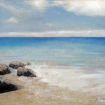 Impressions of the Blue – Oil Painting