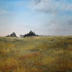 Farm House in a plain – Oil Painting