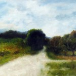 Field Path – Oil Painting