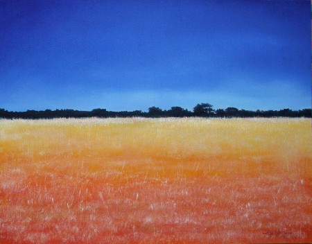 Field of Dreams - Oil Painting on Canvas by artist Darko Topalski