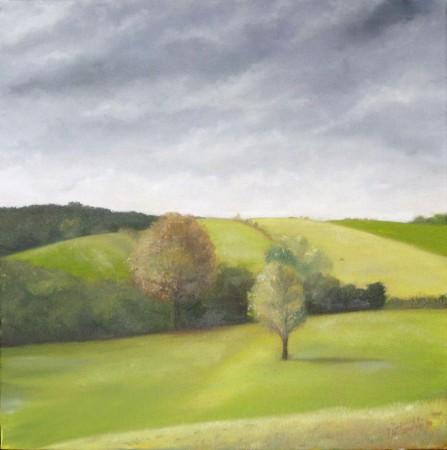 Landscape - Oil Painting on Canvas by artist Darko Topalski