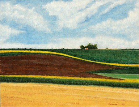 Panonia - Oil Painting on Canvas by artist Darko Topalski