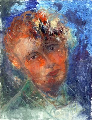Internal-Infernal - Oil Painting on HDF by artist Darko Topalski