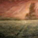 Mist - Oil Painting on Canvas by artist Darko Topalski