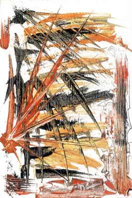 Spinning Around - Oil Painting on HDF by artist Darko Topalski