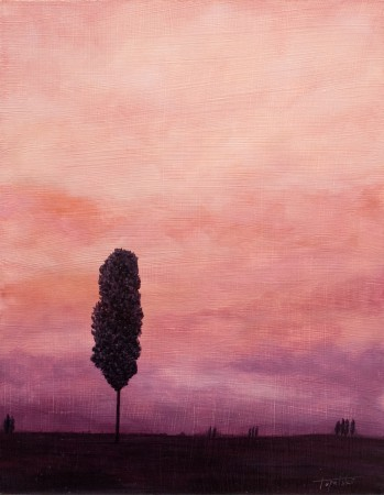 An Tree - Oil Painting on HDF by artist Darko Topalski