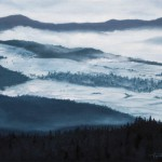 Mountain Winter Landscape – Oil Painting