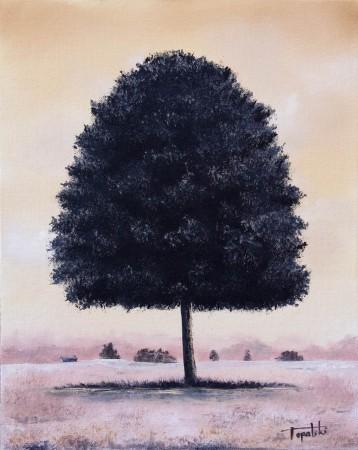 A Tree - Oil Painting on Canvas by artist Darko Topalski