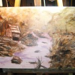 Water Mill - work in progress 2