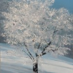 Winter Tree – Oil Painting