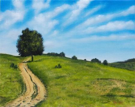 Summer Relax - Oil Painting on Canvas by artist Darko Topalski