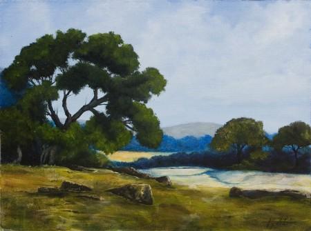 Fields of Dream - Oil Painting on Canvas by artist Darko Topalski