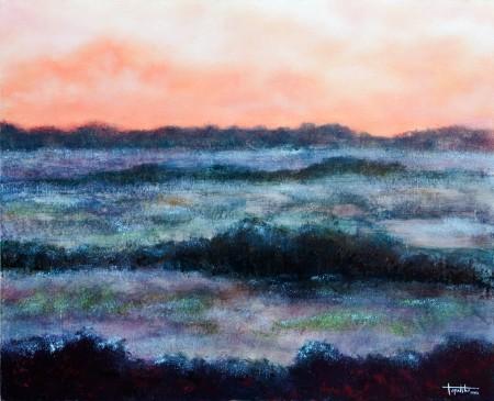 Confinium - Oil Painting on Canvas by artist Darko Topalski