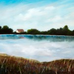 On the Lake – Oil Painting