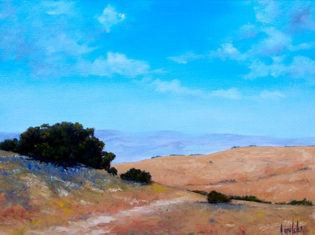 Heights - Oil Painting on HDF by artist Darko Topalski