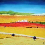 Provence - Oil Painting on Canvas by artist Darko Topalski