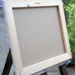 Provence - blind frame - Oil Painting on Canvas by artist Darko Topalski