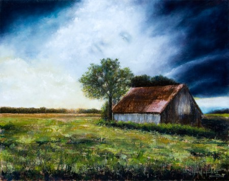 Spirits of the Past - Oil Painting on Canvas by artist Darko Topalski