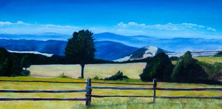 Zlatibor 4  - Original Oil Painting on Canvas by artist Darko Topalski