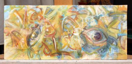 Qvo Vadis - Oil Painting fine Art on HDF by artist Darko Topalski