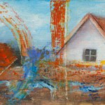 Farm House Abstractions – Oil Painting