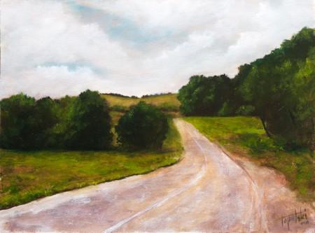 Srem - Oil Painting on HDF by artist Darko Topalski