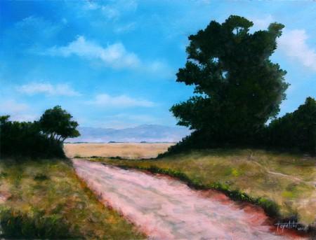 To Meadow - Oil Painting on HDF by artist Darko Topalski