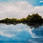 River of Dreams - Original Oil Painting on Canvas by artist Darko Topalski