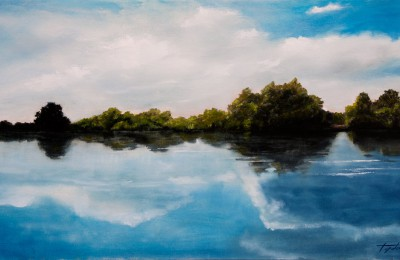 River of Dreams – Oil Painting