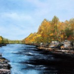 River Streams – Oil Painting