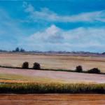Vojvodina-Plain - Original Oil Painting on Canvas by artist Darko Topalski