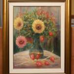 Flower Arrangement – Oil Painting