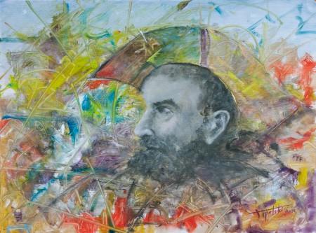 Captain  - Oil Painting on HDF by artist Darko Topalski
