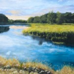 Dawn of the River – Oil Painting